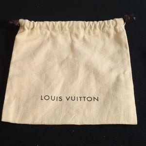 Louis Vutton small drawstrings bag